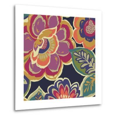 Floral Assortment Square I-Hugo Wild-Metal Print