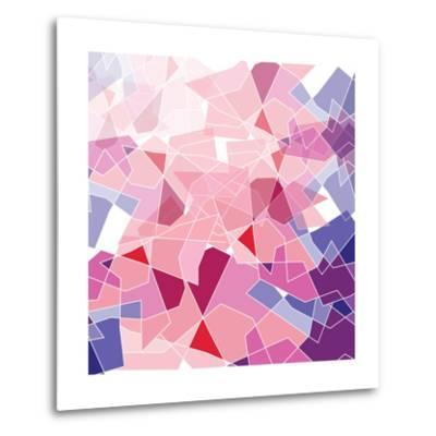 Geometric Background-ApichartMeesri-Metal Print