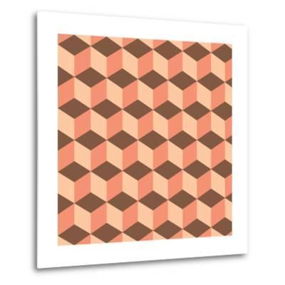 Geometric Background-AnaMarques-Metal Print