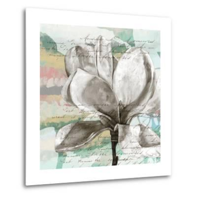 Pastel Magnolias I-Jennifer Goldberger-Metal Print