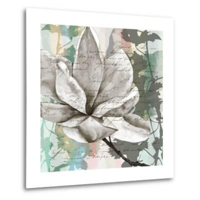 Pastel Magnolias II-Jennifer Goldberger-Metal Print