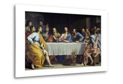 The Last Supper by Philippe De Champaigne--Metal Print