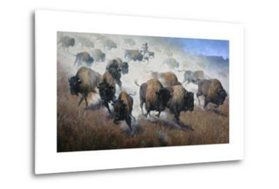 Thunder in the Dust-Jack Sorenson-Metal Print