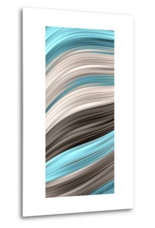Aqua Sweep I-James Burghardt-Metal Print