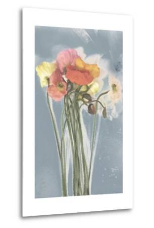 Poppy Spray III-Jennifer Goldberger-Metal Print