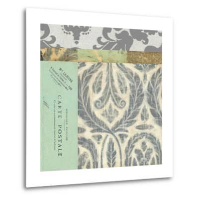 Paris Tapestry V--Metal Print
