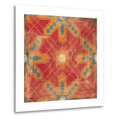 Moroccans Tile II v2-Cleonique Hilsaca-Metal Print