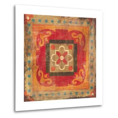 Moroccan Tiles XII-Cleonique Hilsaca-Metal Print