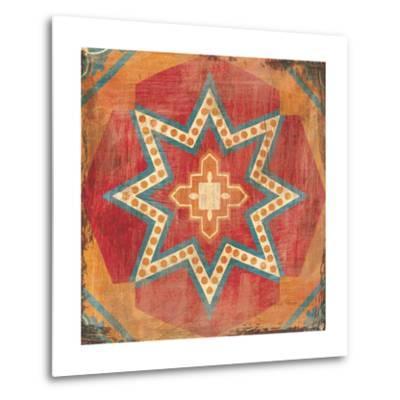 Moroccan Tiles VII-Cleonique Hilsaca-Metal Print