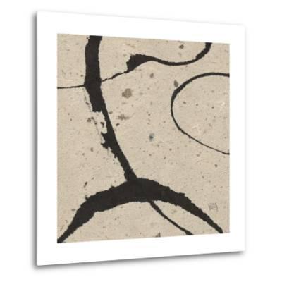 Contemporary Scroll Square IV-Chris Paschke-Metal Print
