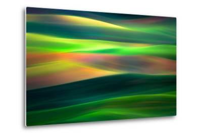 Waves 1-Ursula Abresch-Metal Print