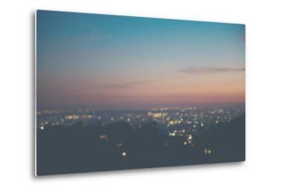 Sunset on Mulholland Drive-Laura Evans-Metal Print