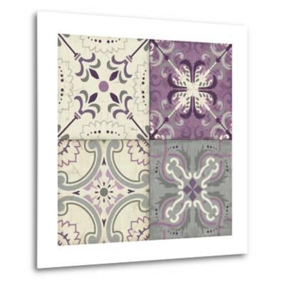 Lavender Glow Tiles Special-Jess Aiken-Metal Print