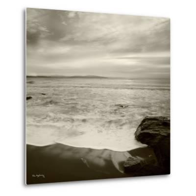 Tides and Waves Square II-Alan Majchrowicz-Metal Print