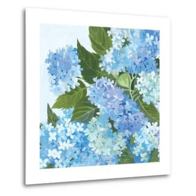 Decorative Hydrangea I-Kathrine Lovell-Metal Print