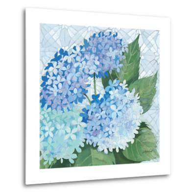 Decorative Hydrangea II-Kathrine Lovell-Metal Print