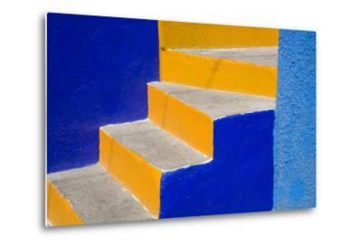 Colorful Stairs-Julie Eggers-Metal Print