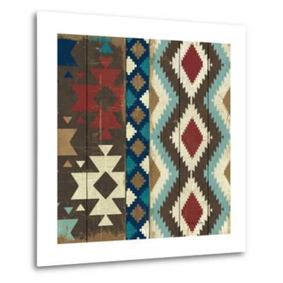 Native Tapestry Crop--Metal Print