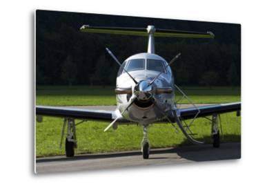 A Pilatus Pc-12 Private Jet--Metal Print