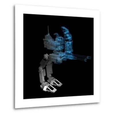 Robot-sauliusl-Metal Print