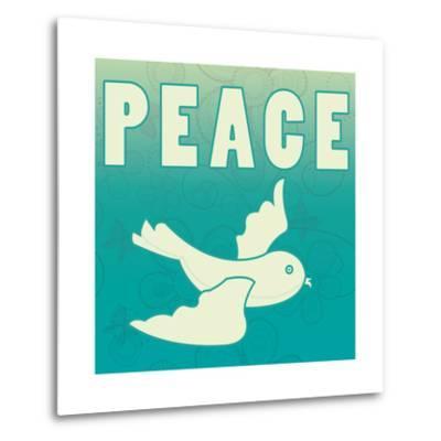 Peace-larJoka-Metal Print