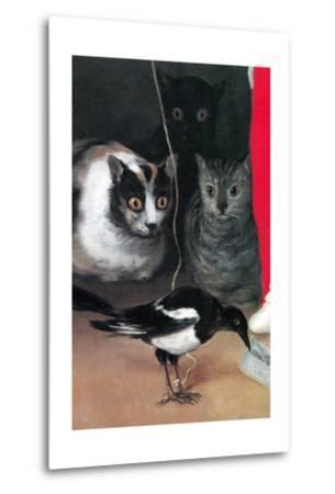Bird Watching-Suzanne Valadon-Metal Print