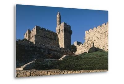 Citadel and Tower of David (Founded in 2nd Century BC)--Metal Print