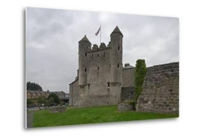 Fifteenth-Century Castle--Metal Print