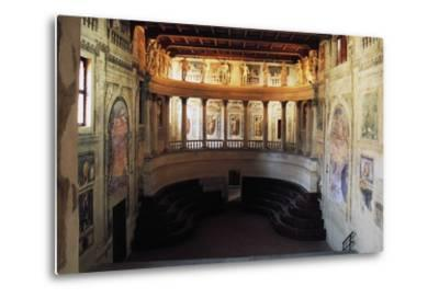 Interior of the Theatre in the Style of the Ancients--Metal Print