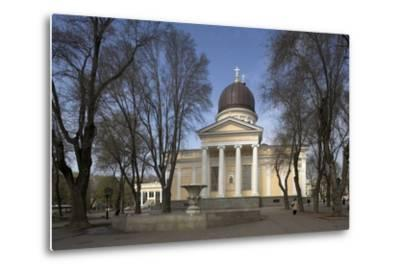 Spaso-Preobrazhensky Cathedral--Metal Print