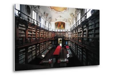 The Library of Classense Library--Metal Print