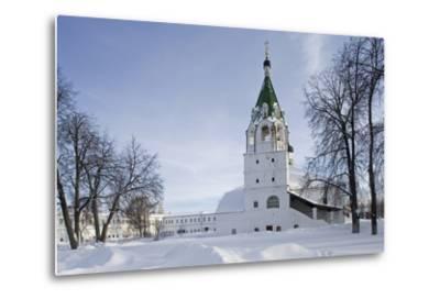 The Holy Assumption Monastery (Uspensky)--Metal Print