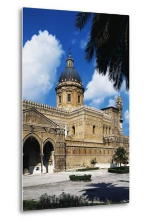 Side View of Cathedral of Assumption of Blessed Virgin Mary--Metal Print