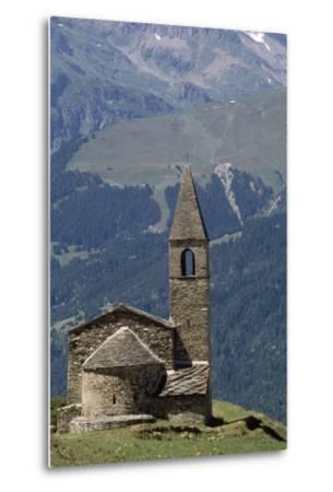 Chapel Saint-Pierre D' Extravache--Metal Print