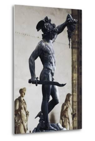 Perseus with the Head of Medusa--Metal Print