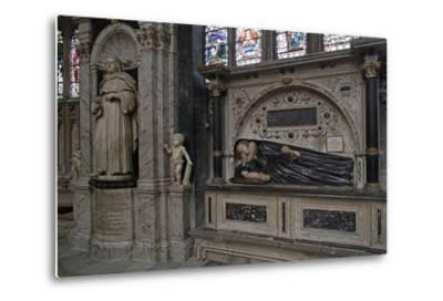The Funerary Monument to Thomas Machly--Metal Print
