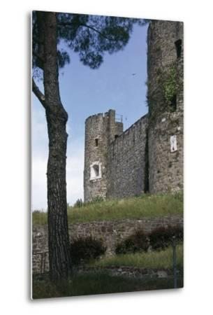 View of Gorizia Castle, 11th Century, Gorizia, Friuli-Venezia Giulia, Italy--Metal Print