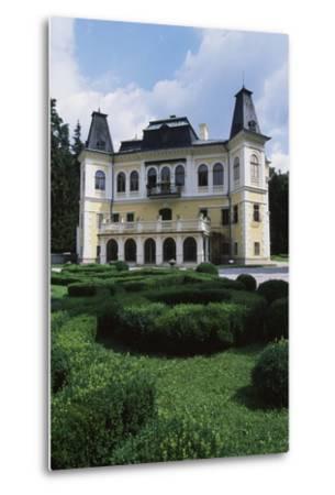Betliar Manor House, Originally from 15th Century and Renovated in 19th Century, Slovakia--Metal Print