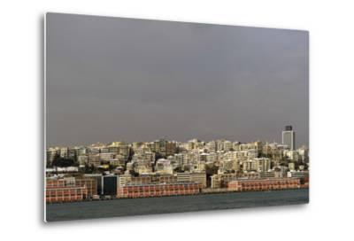 Turkey. Istanbul. Panoramic of District of Beyoglu, on the European Side of City--Metal Print