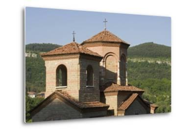 Towers of Church of St Demetrius of Thessaloniki, Founded in 1185, Veliko Tarnovo, Bulgaria--Metal Print