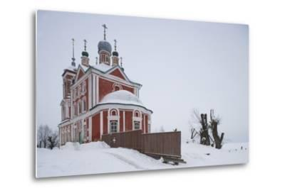 The Church of the Forty Martyrs (1755), Pereslavl-Zalessky, Golden Ring, Russia--Metal Print
