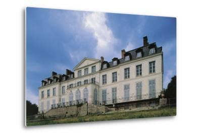 Southern Facade of Chateau of Sainte-Assise, 18th Century, Seine-Port, Ile-De-France, France--Metal Print