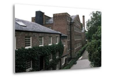 Quarry Bank Mill (19th Century), Textile Manufacturer, Styal, England, United Kingdom--Metal Print