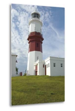 The Lighthouse (1879) on Saint David's Island, Bermuda (British Overseas Territory), United Kingdom--Metal Print