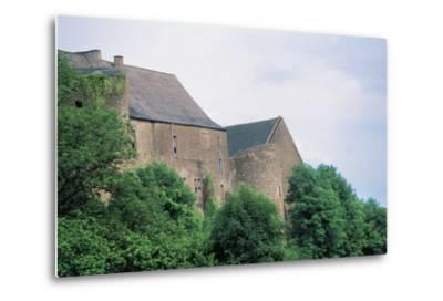 Chateau Di Roussy-Comte and Roussy-Seigneurie, Roussy-Le-Village, Lorraine, France--Metal Print