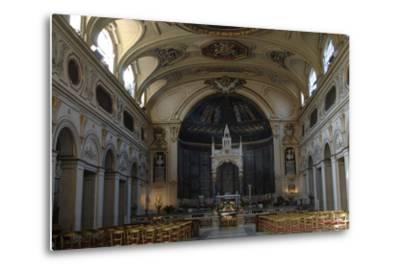 Italy. Rome. Basilica of Saint Cecilia in Trastevere--Metal Print