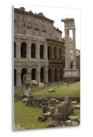 Italy, Rome, Theatre of Marcellus, 1st Century BC--Metal Print
