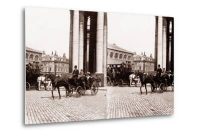 Stereoscopic View of the Panthéon, Paris, 1890--Metal Print