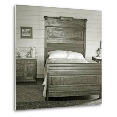 Isobel's Bedroom, Villa Vailima, Apia, Samoa--Metal Print