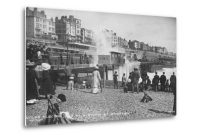 Volk's Electric Railway, Brighton--Metal Print
